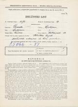 Popis prebivalstva 31. 3. 1931<br />Ljubljana<br />Kolezijska ulica 14<br />Population census 31 March 1931