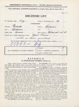 Popis prebivalstva 31. 3. 1931<br />Ljubljana<br />Kolezijska ulica 18<br />Population census 31 March 1931