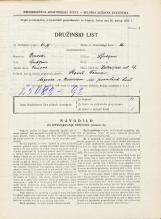 Popis prebivalstva 31. 3. 1931<br />Ljubljana<br />Kolezijska ulica 19<br />Population census 31 March 1931