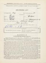 Popis prebivalstva 31. 3. 1931<br />Ljubljana<br />Kolezijska ulica 22<br />Population census 31 March 1931