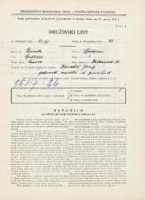 Popis prebivalstva 31. 3. 1931<br />Ljubljana<br />Kolezijska ulica 23<br />Population census 31 March 1931