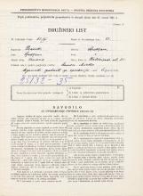 Popis prebivalstva 31. 3. 1931<br />Ljubljana<br />Kolezijska ulica 25<br />Population census 31 March 1931