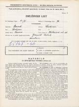 Popis prebivalstva 31. 3. 1931<br />Ljubljana<br />Kolezijska ulica 26<br />Population census 31 March 1931