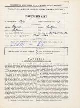 Popis prebivalstva 31. 3. 1931<br />Ljubljana<br />Kolezijska ulica 36<br />Population census 31 March 1931