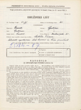Popis prebivalstva 31. 3. 1931<br />Ljubljana<br />Kolezijska ulica 65<br />Population census 31 March 1931
