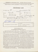 Popis prebivalstva 31. 3. 1931<br />Ljubljana<br />Kolodvorska ulica 13<br />Population census 31 March 1931