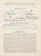 Popis prebivalstva 31. 3. 1931<br />Ljubljana<br />Kolodvorska ulica 24<br />Population census 31 March 1931