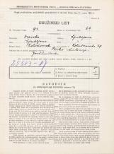 Popis prebivalstva 31. 3. 1931<br />Ljubljana<br />Kolodvorska ulica 27<br />Population census 31 March 1931