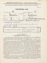 Popis prebivalstva 31. 3. 1931<br />Ljubljana<br />Kolodvorska ulica 28<br />Population census 31 March 1931