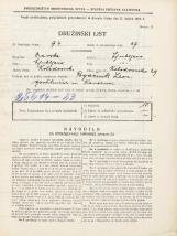 Popis prebivalstva 31. 3. 1931<br />Ljubljana<br />Kolodvorska ulica 29<br />Population census 31 March 1931