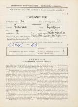 Popis prebivalstva 31. 3. 1931<br />Ljubljana<br />Kolodvorska ulica 34<br />Population census 31 March 1931