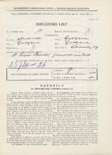 Popis prebivalstva 31. 3. 1931<br />Ljubljana<br />Kolodvorska ulica 39<br />Population census 31 March 1931