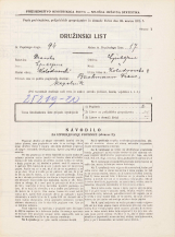 Popis prebivalstva 31. 3. 1931<br />Ljubljana<br />Kolodvorska ulica 8<br />Population census 31 March 1931