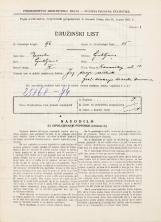 Popis prebivalstva 31. 3. 1931<br />Ljubljana<br />Komenskega ulica 13<br />Population census 31 March 1931