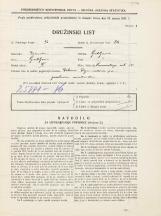 Popis prebivalstva 31. 3. 1931<br />Ljubljana<br />Komenskega ulica 14<br />Population census 31 March 1931