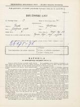 Popis prebivalstva 31. 3. 1931<br />Ljubljana<br />Kongresni trg 13<br />Population census 31 March 1931