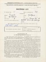 Popis prebivalstva 31. 3. 1931<br />Ljubljana<br />Kongresni trg 14<br />Population census 31 March 1931