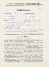 Popis prebivalstva 31. 3. 1931<br />Ljubljana<br />Kongresni trg 15<br />Population census 31 March 1931