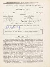 Popis prebivalstva 31. 3. 1931<br />Ljubljana<br />Kongresni trg 18<br />Population census 31 March 1931