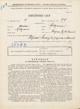 Popis prebivalstva 31. 3. 1931<br />Ljubljana<br />Kongresni trg 20<br />Population census 31 March 1931