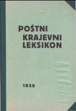 Poštni krajevni leksikon za Dravsko banovino<br />II. izdaja