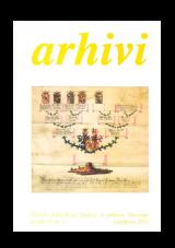 Arhivi 2012, št. 1<br />Glasilo Arhivskega društva in arhivov Slovenije