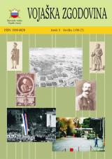 Vojaška zgodovina, 2004, št. 1