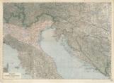 Übersichtskarte des südwestlichen Kriegsschauplatzes