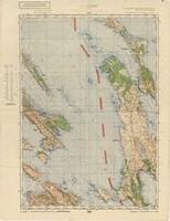 Rab<br />Karte von Jugoslawien 1:100.000. Sonderausgabe. Nür für den Dienstgebrauch.<br />Blatt 53