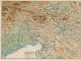 Ravensteins Kriegskarte 17: Ravensteins Kriegskarte für oestl. Dolomiten, Karnische und Julische Alpen, Görz, Küstenland, Friaul und oberitalienische, Venezianische Ebene