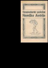 Gospodarski položaj Nemške Avstrije