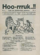 Hoo-rruk..!!, 1920, št. 3<br />List za plebiscitno zabavo