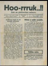 Hoo-rruk..!!, 1920, št. 2<br />List za plebiscitno zabavo