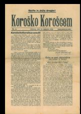 Koroško Korošcem, št. 41