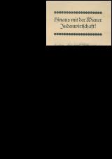 Hinaus mit der Wiener Judenwirtschaft!