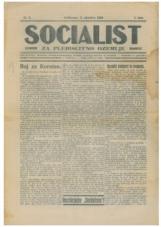 Socialist za plebiscitno ozemlje, št. 3, 1920