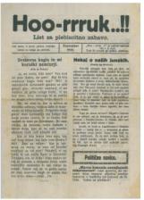 Hoo-rruk..!!, št. 2, 1920<br />List za plebiscitno zabavo