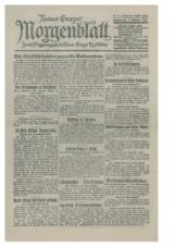 Neues Grazer Morgenblatt, 686, 1920<br />Zweite Morgensausgabe des Neuen Grazer Tagesblattes, 7. Oktober 1920