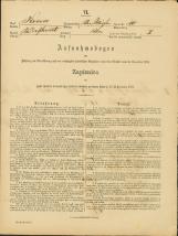 Popis prebivalstva 31. 12. 1869<br />Občina Bela Cerkev<br />Bela Cerkev 10<br />Population census 31 December 1869<br />Municipality Bela Cerkev