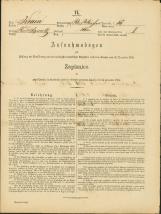 Popis prebivalstva 31. 12. 1869<br />Občina Bela Cerkev<br />Bela Cerkev 15<br />Population census 31 December 1869<br />Municipality Bela Cerkev
