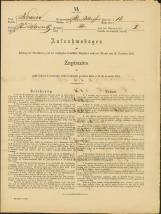 Popis prebivalstva 31. 12. 1869<br />Občina Bela Cerkev<br />Bela Cerkev 18<br />Population census 31 December 1869<br />Municipality Bela Cerkev