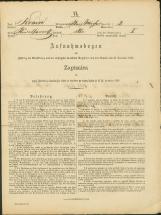 Popis prebivalstva 31. 12. 1869<br />Občina Bela Cerkev<br />Bela Cerkev 2<br />Population census 31 December 1869<br />Municipality Bela Cerkev