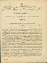 Popis prebivalstva 31. 12. 1869<br />Občina Bela Cerkev<br />Bela Cerkev 3<br />Population census 31 December 1869<br />Municipality Bela Cerkev