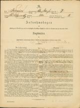 Popis prebivalstva 31. 12. 1869<br />Občina Bela Cerkev<br />Bela Cerkev 7<br />Population census 31 December 1869<br />Municipality Bela Cerkev