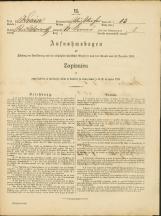 Popis prebivalstva 31. 12. 1869<br />Občina Bela Cerkev<br />Dolenje Kronovo 13<br />Population census 31 December 1869<br />Municipality Bela Cerkev