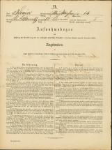 Popis prebivalstva 31. 12. 1869<br />Občina Bela Cerkev<br />Dolenje Kronovo 14<br />Population census 31 December 1869<br />Municipality Bela Cerkev