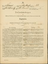 Popis prebivalstva 31. 12. 1869<br />Občina Bela Cerkev<br />Dolenje Kronovo 22<br />Population census 31 December 1869<br />Municipality Bela Cerkev