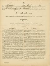 Popis prebivalstva 31. 12. 1869<br />Občina Bela Cerkev<br />Dolenje Kronovo 23<br />Population census 31 December 1869<br />Municipality Bela Cerkev