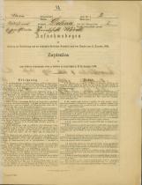Popis prebivalstva 31. 12. 1869<br />Občina Bela Cerkev<br />Dolina 2<br />Population census 31 December 1869<br />Municipality Bela Cerkev