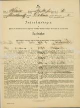 Popis prebivalstva 31. 12. 1869<br />Občina Bela Cerkev<br />Dolina 3<br />Population census 31 December 1869<br />Municipality Bela Cerkev